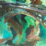 Ευγενία Γαλανοπούλου: «Γέφυρα», 50Χ70εκ. Ακρυλικό σε καμβά