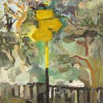 Ελένη Τσαγκαράκη: «Ζαχλωρού», 50Χ70εκ. Λάδι σε καμβά